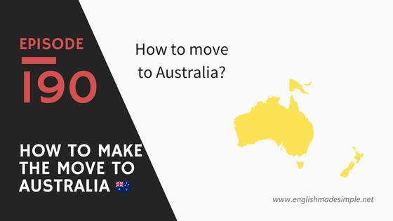 [190] How To Move To Australia